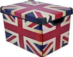 Curver škatla za shranjevanje British Flag, 25 l