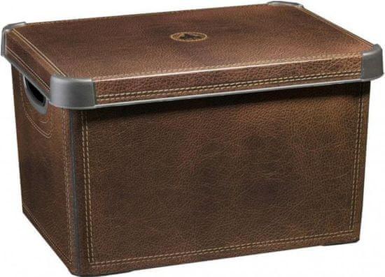 CURVER Dekoratívny box Leather