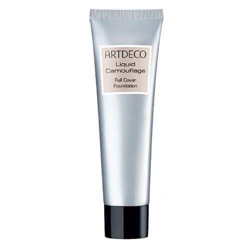 Artdeco Tekutý make-up Liquid Camouflage (Full Cover Foundation) 25 ml (Odstín No. 12 Light Apricot)