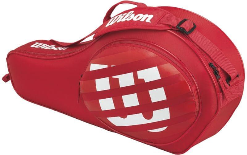Wilson Match Jr Triple Red