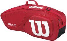 Wilson Team II 3Pk Bag Red