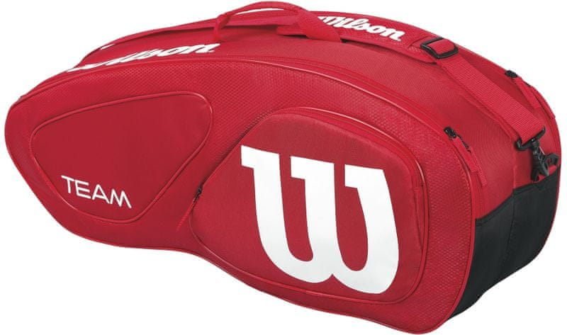 Wilson Team II 6Pk Bag Red