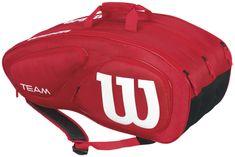 Wilson teniška torba Team II 12Pk Bag Red