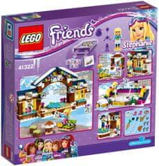 LEGO® Friends 41322 Lodowisko w zimowym kurorcie