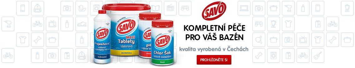 Bazénová chemie - Savo