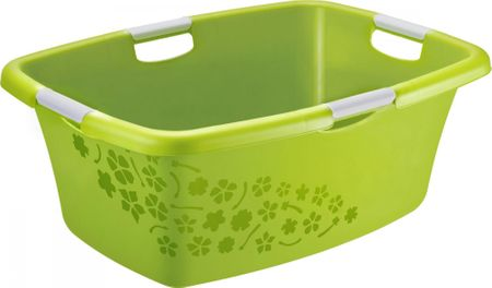 Rotho Umývadlo Flowers 50 l, zelená