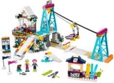 LEGO® Friends 41324 Wyciąg narciarski w zimowym kurorcie