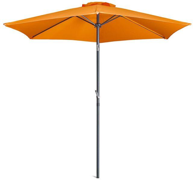 Myard Monaco - středový slunečník 2,3 m s kličkou naklápěcí, oranžový