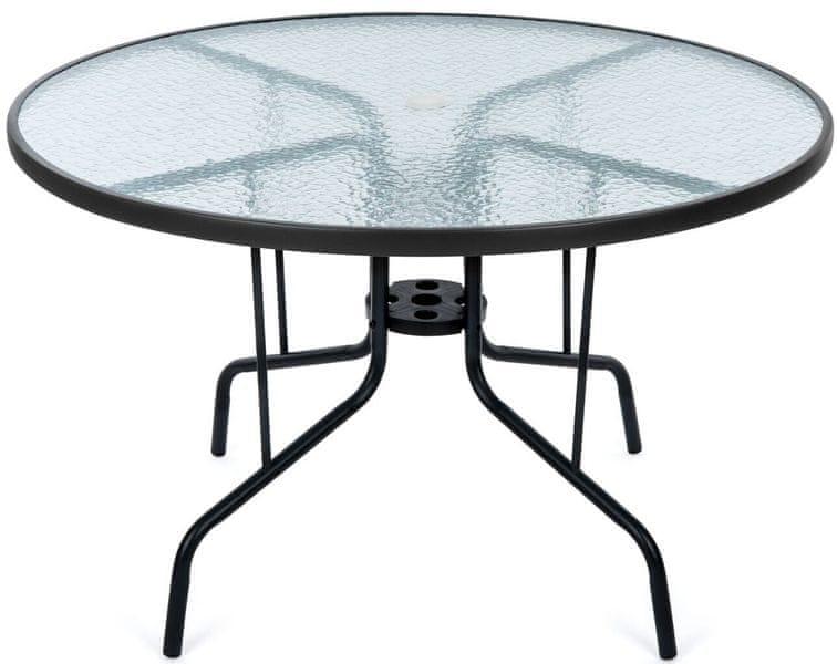Myard SAVONA zahradní stůl kulatý, čirý
