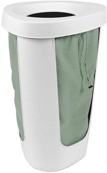 Rotho Koš na prádlo Fabu 50 l, zelená