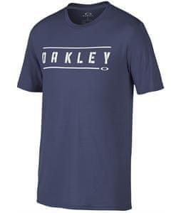 Oakley moška majica Double Stack, modra, M