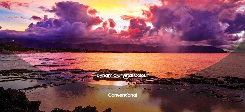 Dynamic Crystal Colour