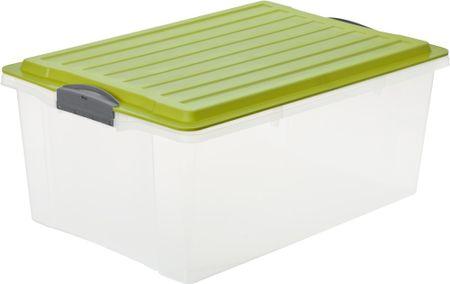 Rotho kutija za pohranjivanje Compact 38 L, zelena