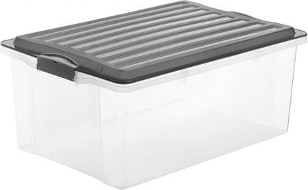 Rotho Úložný box Compact 38 l, antracitová