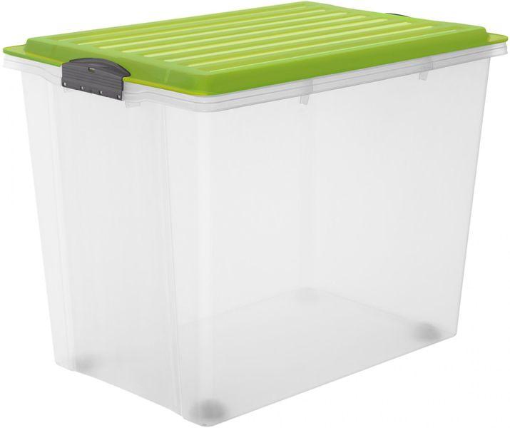 Rotho Úložný box Compact 70 l, zelená