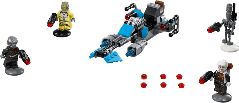 LEGO® Star Wars 75167 Speederová motorka námezdního lovce