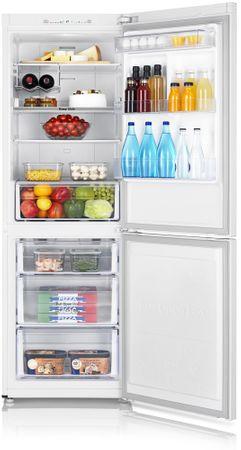 SAMSUNG RB29FSRNDWW Kombinált hűtőszekrény, 311 L, A+
