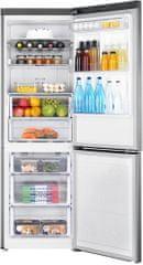 SAMSUNG RB33J3415SS/EF Kombinált hűtőszekrény