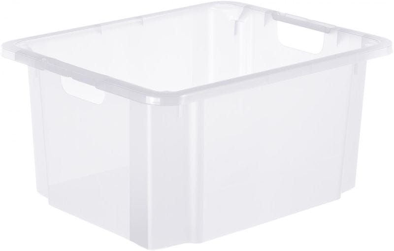 Rotho Úložný box Reverso 46 l, transparentní