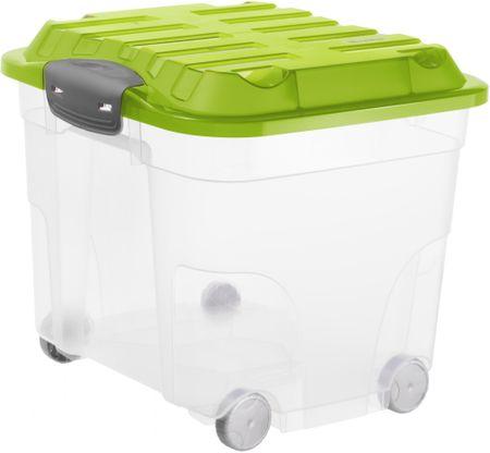 Rotho škatla za shranjevanje Roller 30 L