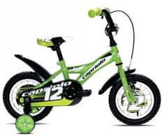 Capriolo otroško kolo BMX Mustang 12'', zeleno