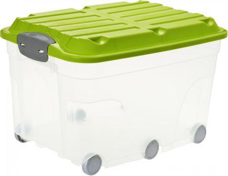 Rotho škatla za shranjevanje Roller 57 L