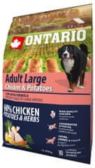 Ontario Adult Large Chicken & Potatoes 2,25kg