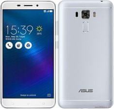 Asus mobilni telefon Zenfone 3 Laser, srebrni + BT zvučnik