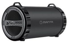 Manta manta-prenosni Bluetooth zvočnik PIPE SPK204FM - Odprta embalaža