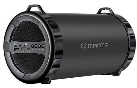 Manta prenosni Bluetooth zvočnik PIPE SPK204FM