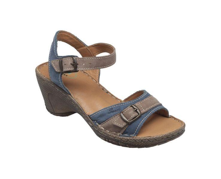 SANTÉ Zdravotní obuv dámská N/309/7/84/43 modrá (Velikost vel. 38)