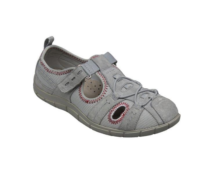 SANTÉ Zdravotní obuv dámská MDA/203668 šedá (Velikost vel. 41)
