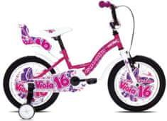 Capriolo otroško dekliško kolo BMX Viola 16'', pink