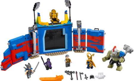 LEGO Super Heroes 76088 Thor és Hulk: Összecsapás az arénában