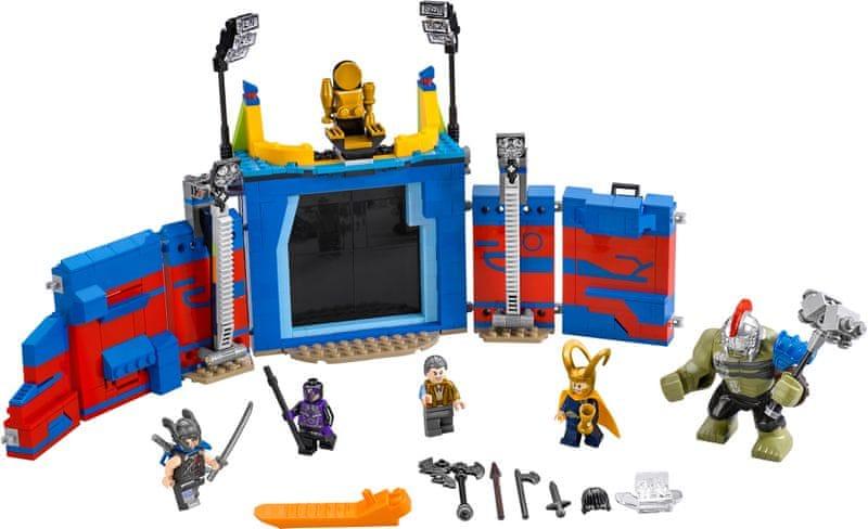 LEGO® Super Heroes 76088 Thor vs. Hulk: Souboj v aréně