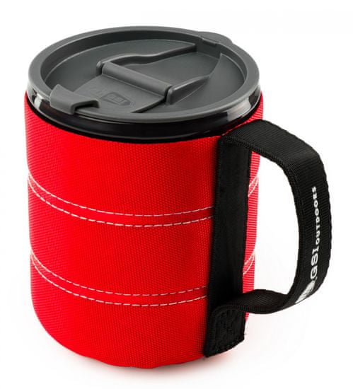 Gsi Kubek Infinity Backpacker Mug red
