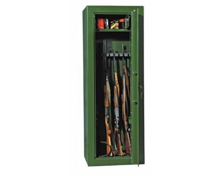Rottner Skříň na 10 zbraní Safari 10 zelená