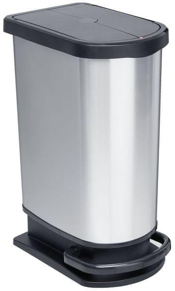 Rotho Pedálový odpadkový koš Duo Paso 50 l