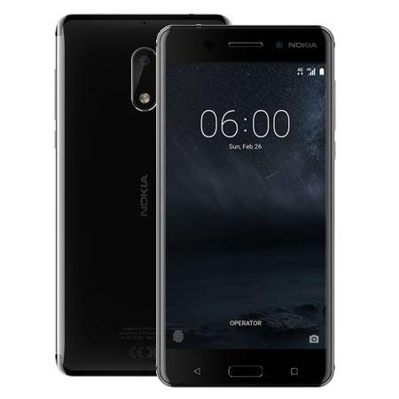 Nokia GSM telefon 6 Dual Sim, črn