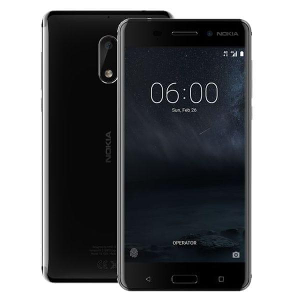Nokia 6 Dual SIM, černá