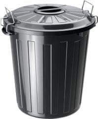 Rotho koš za odpadke Basic, 25 l, črn