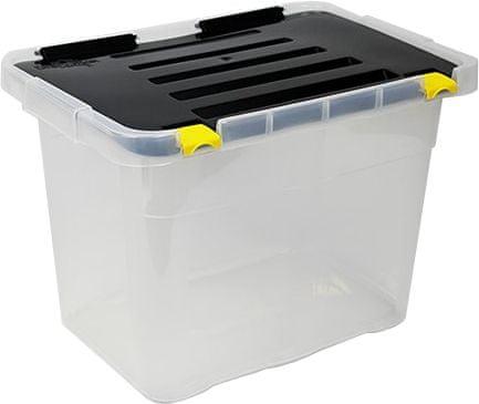 Heidrun škatla za shranjevanje Dragon Box, 18 l, črna