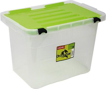 Heidrun škatla za shranjevanje Dragon Box, 18 l, zelena
