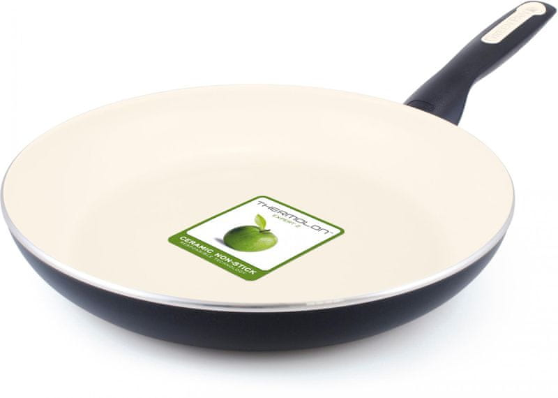 GreenPan Rio Black pánev 28 cm creme