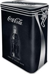 Postershop Blaszany pojemnik z klipsem Coca-Cola