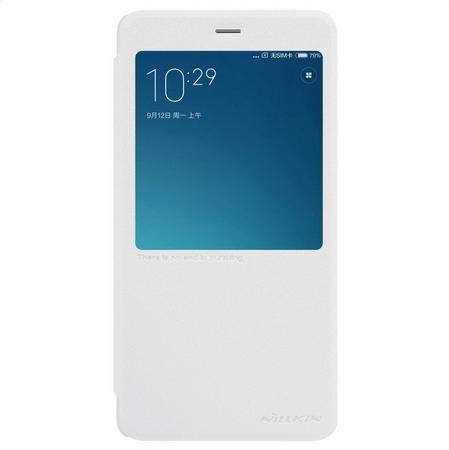 Nillkin Kryt Sparkle S-View (Xiaomi Redmi Note 4), bílá