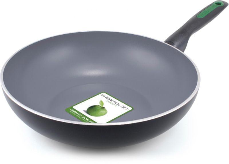 GreenPan Rio Black pánev WOK 28 cm
