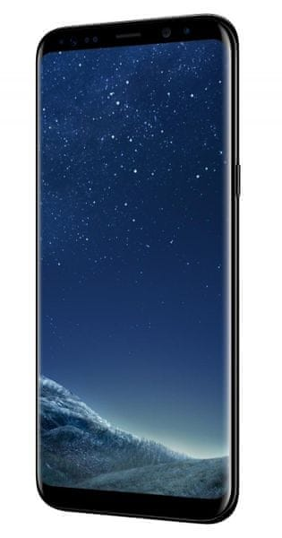 Samsung Galaxy S8+ (plus), Midnight Black + cashback 3000 Kč
