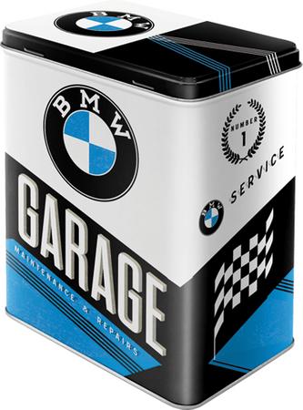 Postershop Plechová dóza BMW Garage