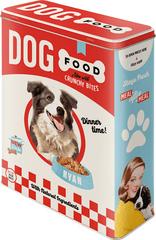 Postershop Blaszany pojemnik Dog Food